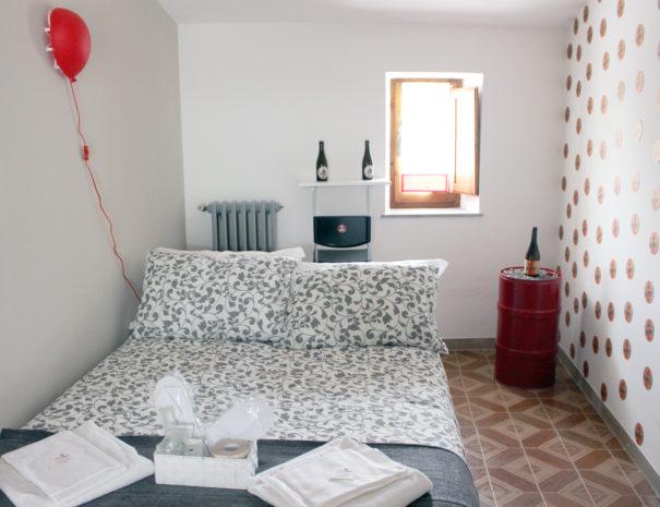 Dormire a Gubbio dentro la camera Birra Perugia