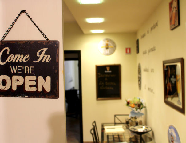 Come in we're open - La sosta Navarra