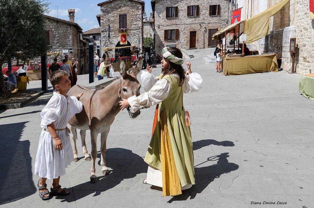 Medioevo festival di Gubbio