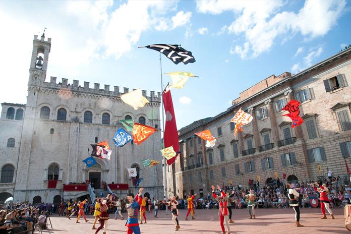 Sbandieratori di Gubbio